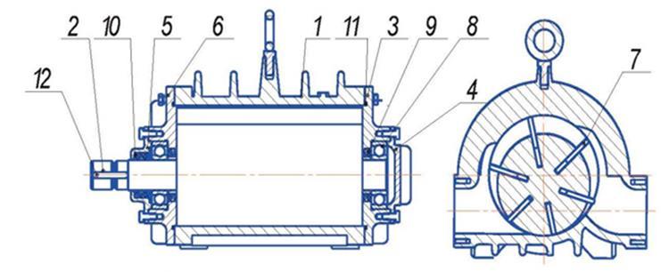 Конструкция вакуум насосов