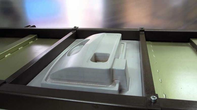 Станок для вакуумной формовки пластика